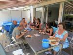 04.08.2013: Chez Murielle, Alain & famille